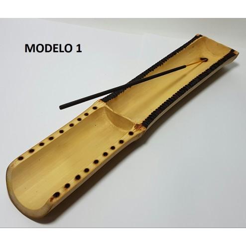 Incensário de Bambu ( Canoa)
