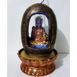 Fonte Decorativa Esotérica Buda Mod 2  ( 40 cm)