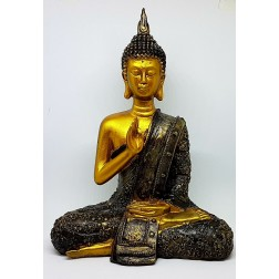 Estátua Buda Tibetano (Resina)
