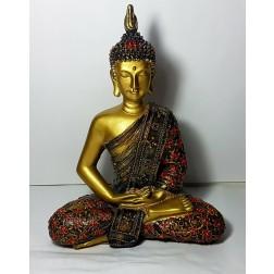 Estátua Buda Tibetano (Resina) 2