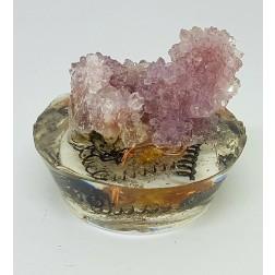 Orgonite Com Drusa formação de cristais