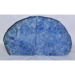 Geodo de Ágata AZUL POLIDO Duplo Q4