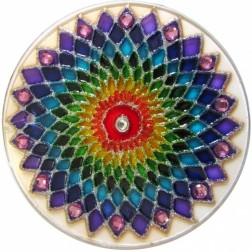 Mandala Arco Íris P 10 cm