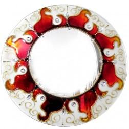 Mandala Espelho Sol Decorativa 30cm
