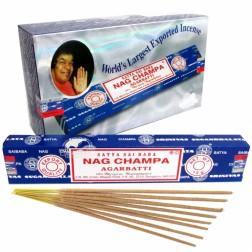 Incenso Nag Champa Sai Baba Agarbatti Satya