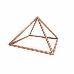 Pirâmide de Cobre Vazada 18 CM