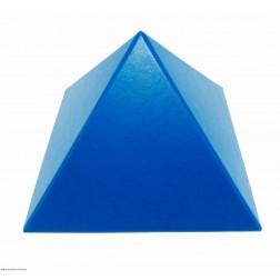 Pirâmide Azul Lisa 17 cm