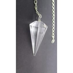 Pêndulo de Cristal ( Quartzo)